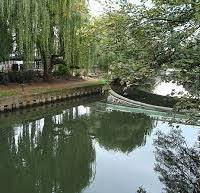 Guildford was first a Saxon village near a ford, with golden sands and golden flowers growing on the banks of the river.