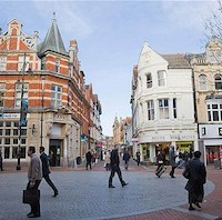 Reading is a bustling commercial centre for the IT sector as well as insurance