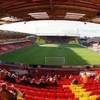 Vicarage Road is a stadium in Watford, Hertfordshire