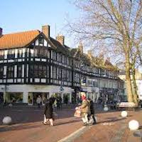 Watford town and borough are located in Hertfordshire in UK, about 17 miles to the north west of Central London