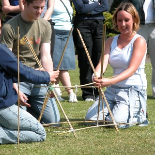 Our outdoor activities can be a great means of getting your team working together as well as having fun